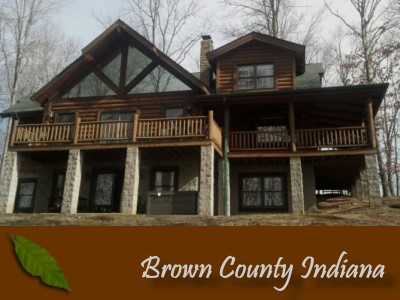 All Because...Cabin in Brown County Indiana on