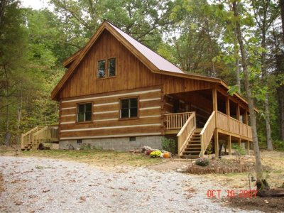brown county vacation cabin