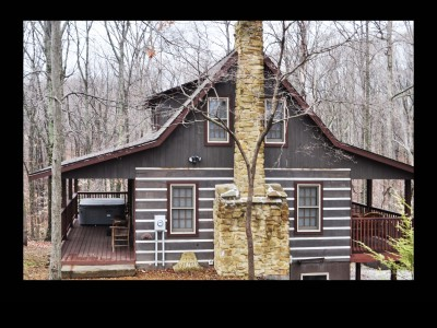 Cabin Fever Rustic Log Cabin In Brown County Indiana
