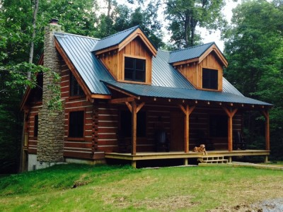 cozy dog log cabin brown county indiana