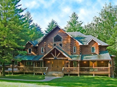 Eagles Nest log home vacation rental in Brown County Indiana. Rental Cabins In Brown County Indiana. Home Design Ideas